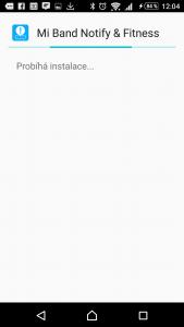 Instalace aplikace Mi Band Notify