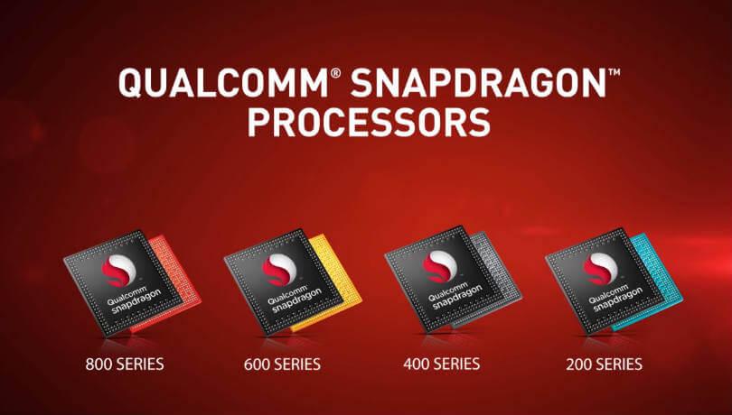 Modelové řady procesorů Qualcomm