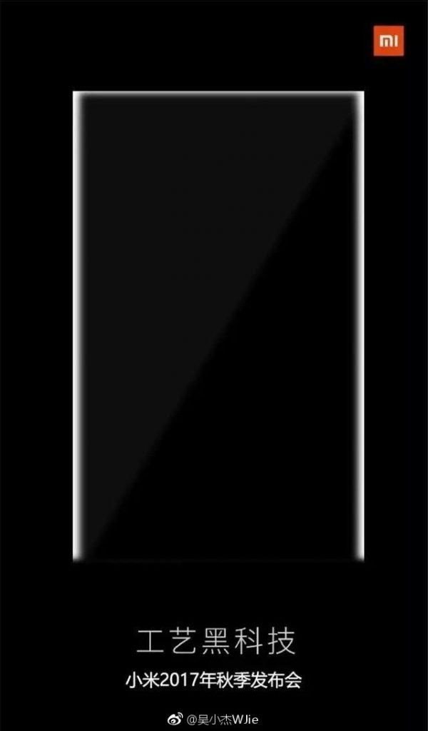 Kdy bude představen Xiaomi Mi Mix 2?
