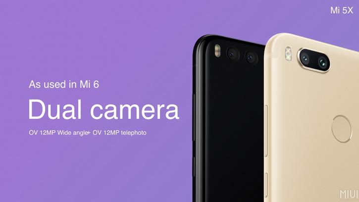 S duálním foťákem přišel telefon Xiaomi Mi 5X
