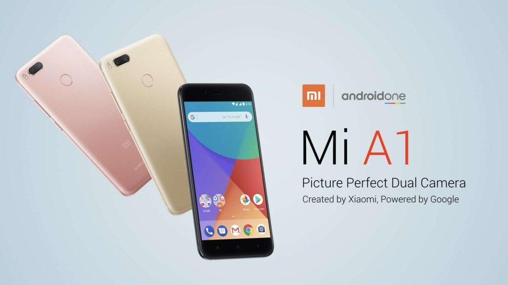 Telefon Xiaomi Mi A1 vznikl ve spolupráci s Googlem