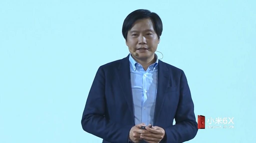 Generální ředitel společnosti Xiaomi Lei Jun