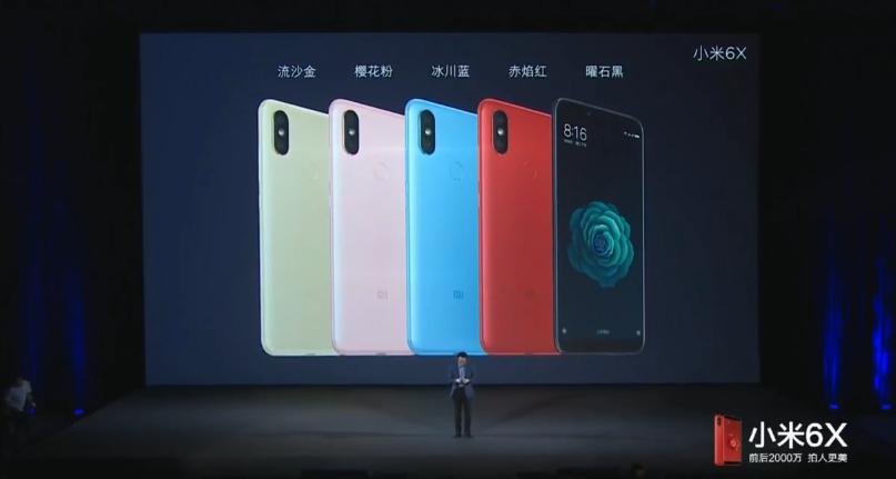 Telefon bude k dispozici v pěti barvách