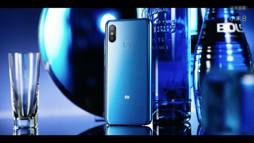 Modrý Xiaomi Mi 8