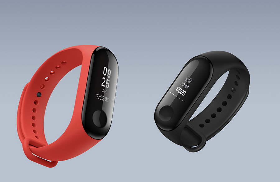 O Xiaomi Mi Band 3 je obrovský zájem