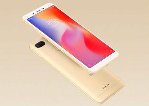 Xiaomi Redmi 6 ve zlaté