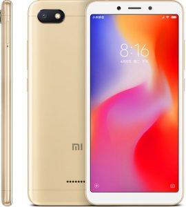 Xiaomi Redmi 6A v zlaté