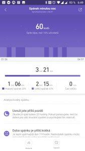 Data o posledním spánku