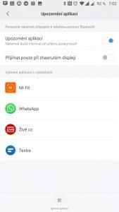 Oznámení aplikací