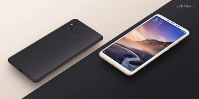 Rendery Xiaomi Mi Max 3