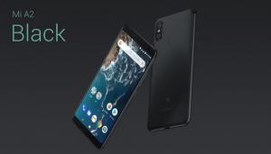 Telefon Xiaomi Mi A2 v černé barvě
