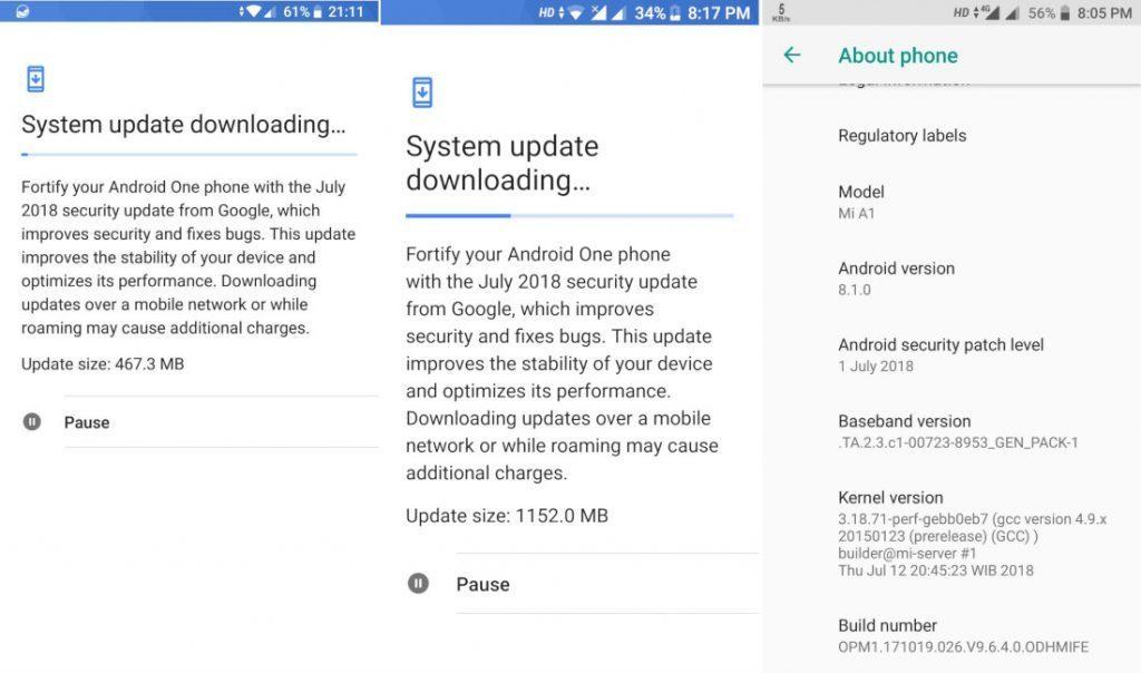 Xiaomi Mi A1 má po aktualizaci další problém - tentokrát s notifikační LED