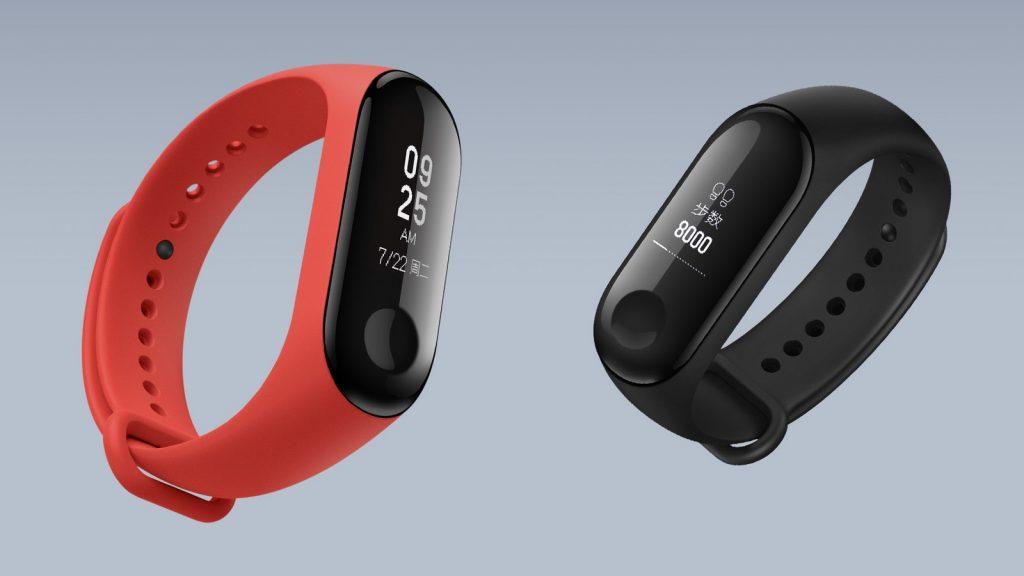 Xiaomi Mi Band 3 má dotykový displej