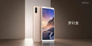 Xiaomi Mi Max 3 ve zlaté