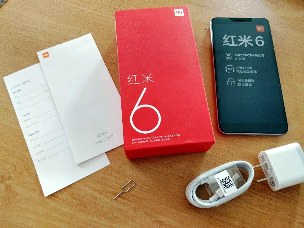 Máme rozbaleno, recenze Xiaomi Redmi 6 může začít!