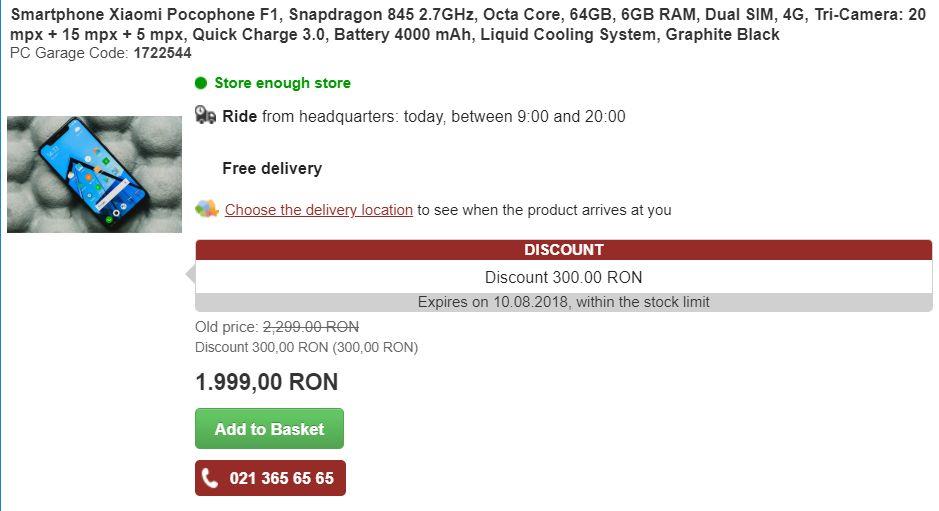 Na stránkách rumunského e-shopu PC Garage se objevily údajné specifikace