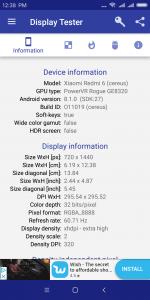 Parametry obrazovky a grafiky