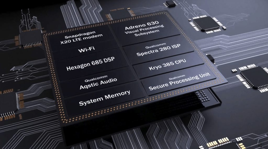 Srdcem je procesor Qualcomm Snapdragon 845
