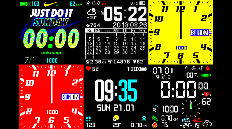 Jak změnit/nainstalovat nové ciferníky na hodinky Amazfit BIP, Cor a