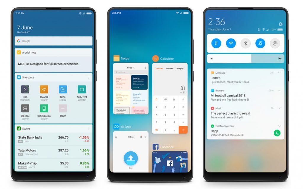 Které telefony dostaly či dostanou aktualizaci na MIUI 10?