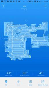 Xiaomi Mi Robot 2 si mapuje prostor