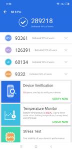 Recenze Xiaomi Mi 8 Pro - AnTuTu Benchmark