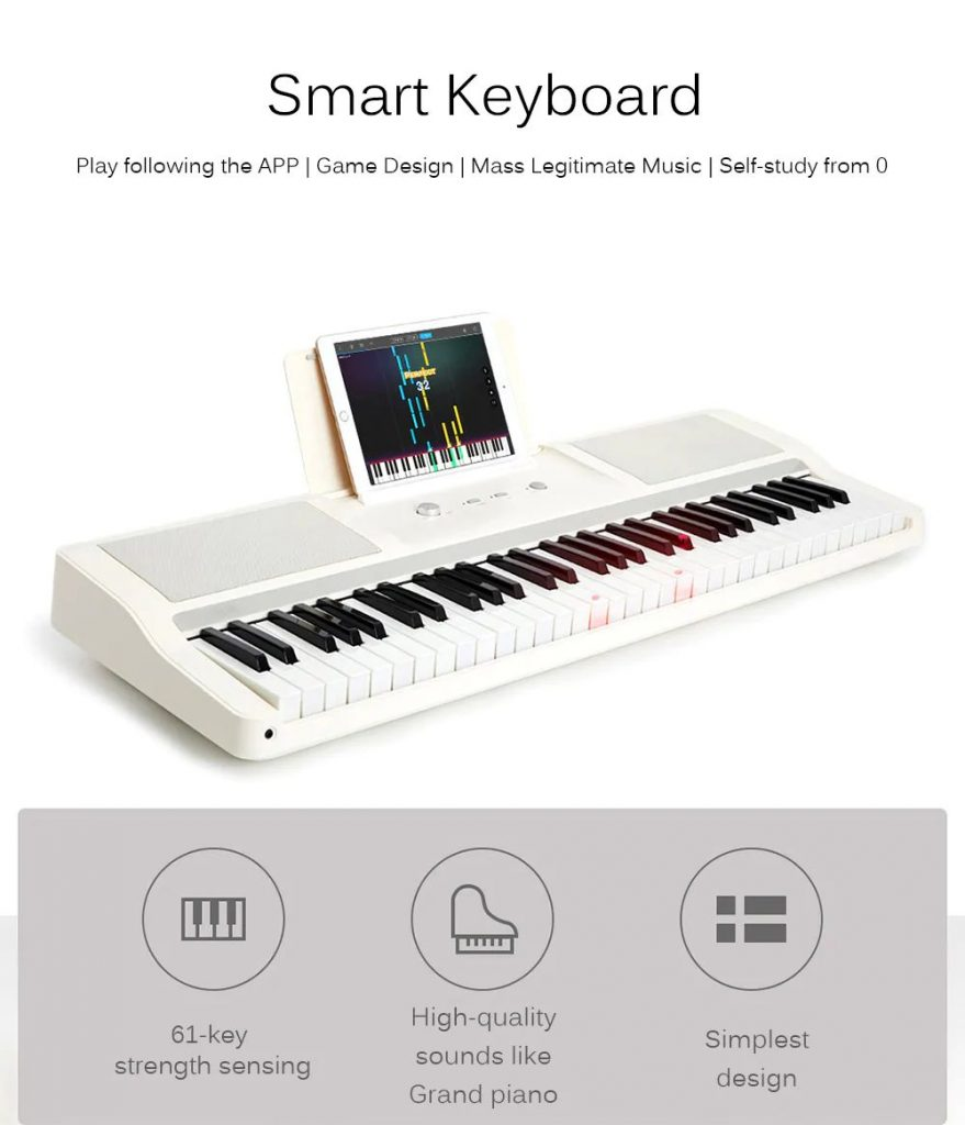 Xiaomi TheOne Smart Keyboard Light Piano