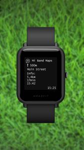 Aplikace podporuje hodinky Amazfit Bip