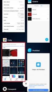 Dlouze podržte prst na náhledu aplikace