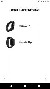 Mi Band Maps podporuje tato zařízení