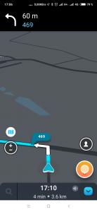 Navigace fungovala bez problémů