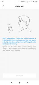 Odemykání Xiaomi Mi Mix 3 obličejem