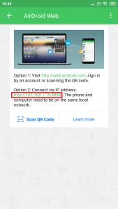 Všimněte si adresy u položky Option 2