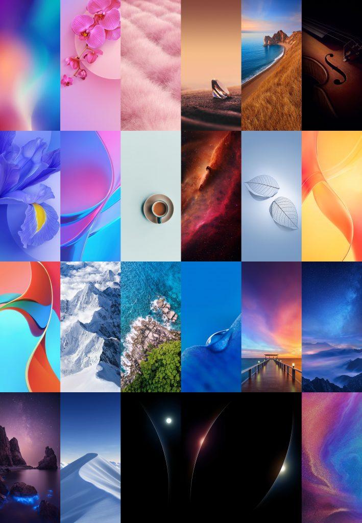 Více než dvacet tapet z telefonu Xiaomi Mi 9