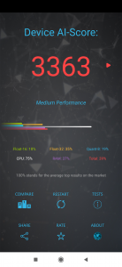 AI Benchmark na Redmi Note 7