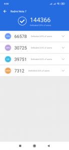 AnTutu Benchmark pro účely recenze Redmi Note 7