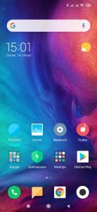 Ikony aplikací na domovské obrazovce