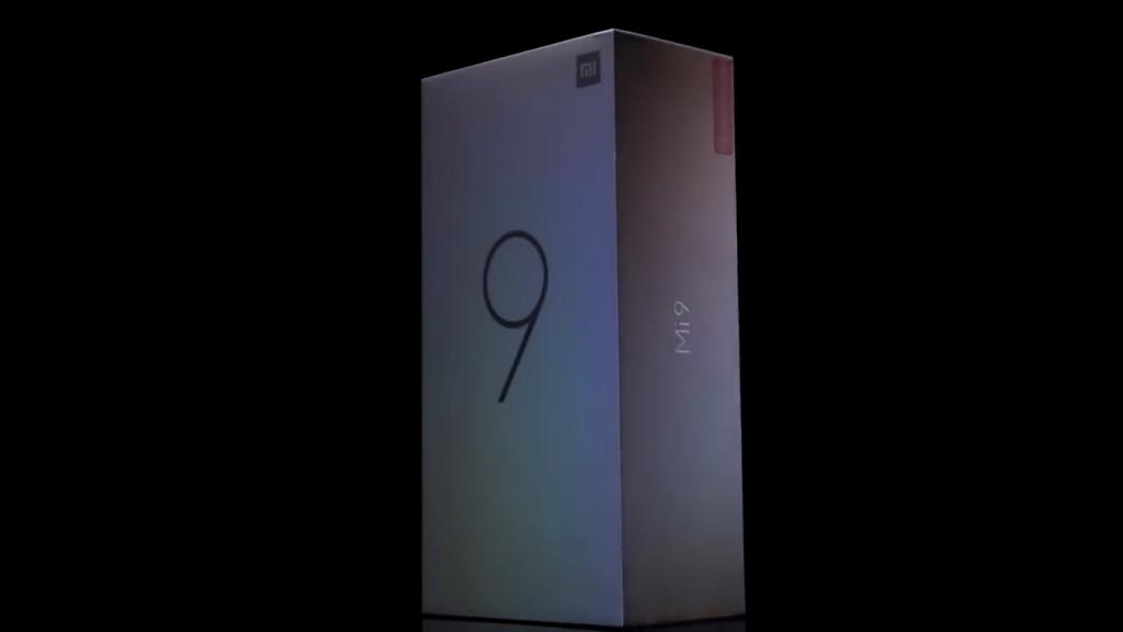 Krabička Xiaomi Mi 9 doslova hraje všemi barvami