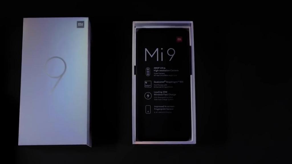 Rozbalování Xiaomi Mi 9
