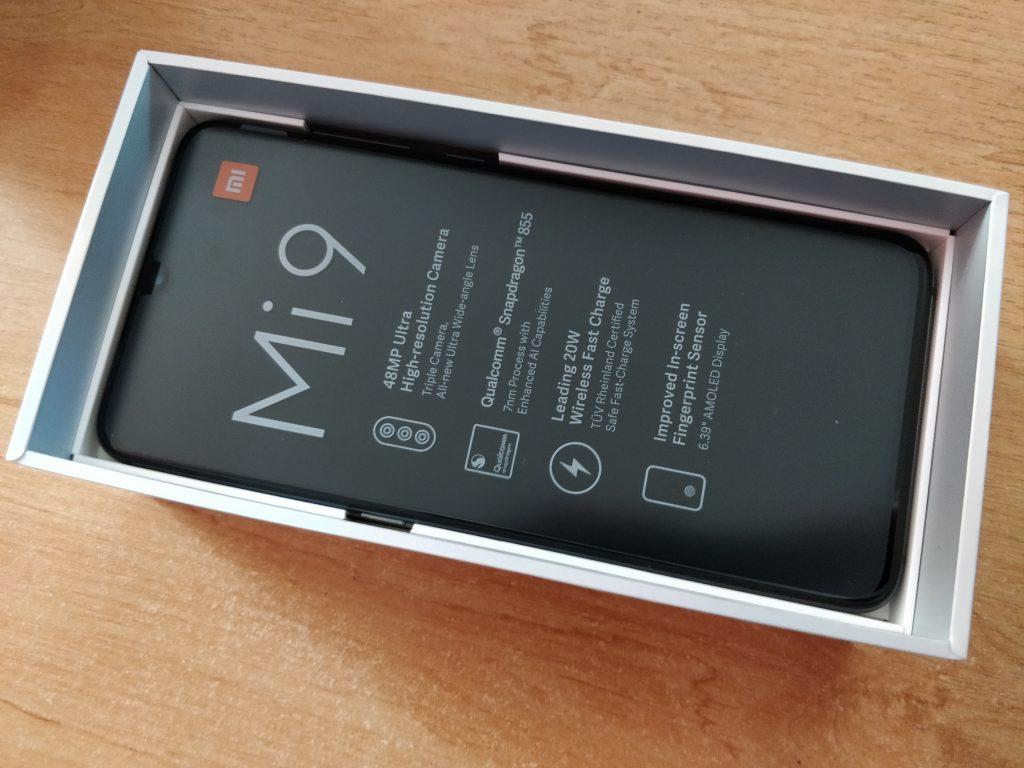 A tady už čeká Xiaomi Mi 9