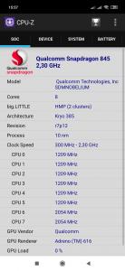 Informace o procesoru