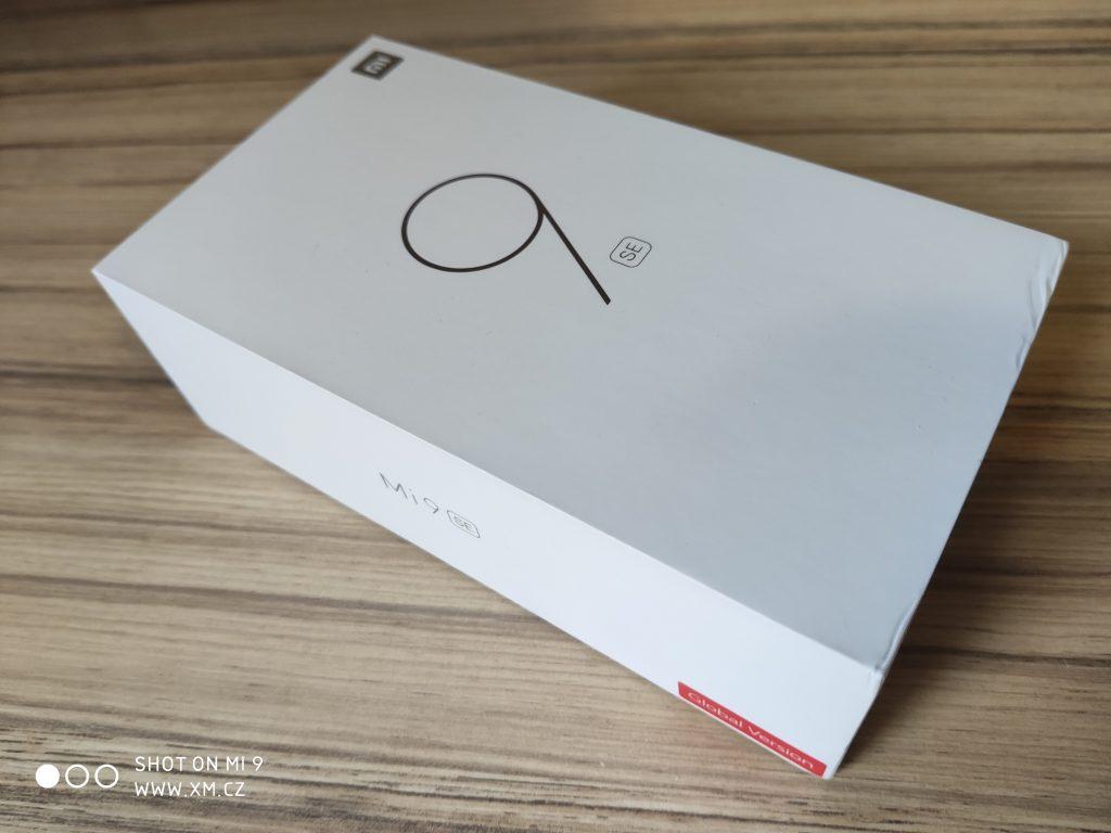 Krabička Xiaomi Mi 9 SE