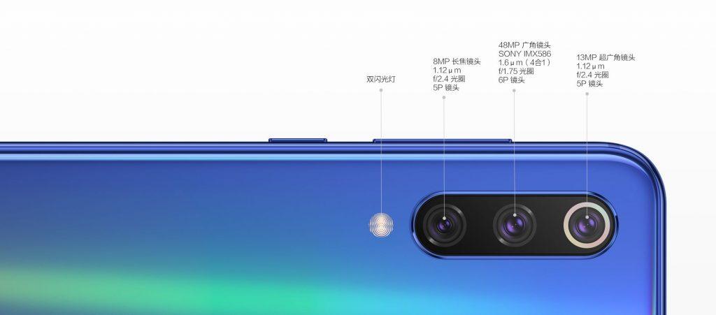 Xiaomi Mi 9 a Mi 9 SE liší konfigurací foťáku