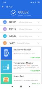 AnTuTu Benchmark v rámci recenze Xiaomi Mi Play