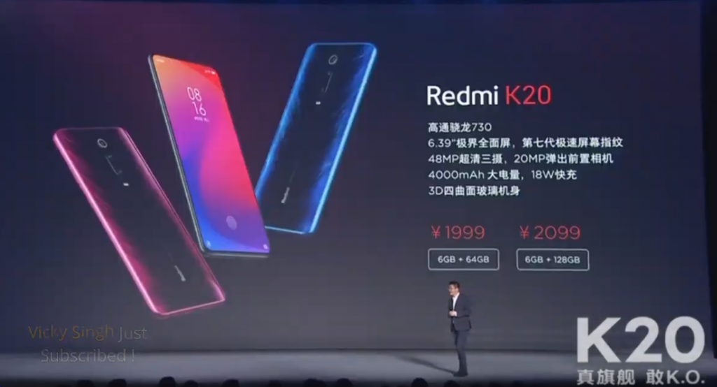Ceny telefonu Redmi K20