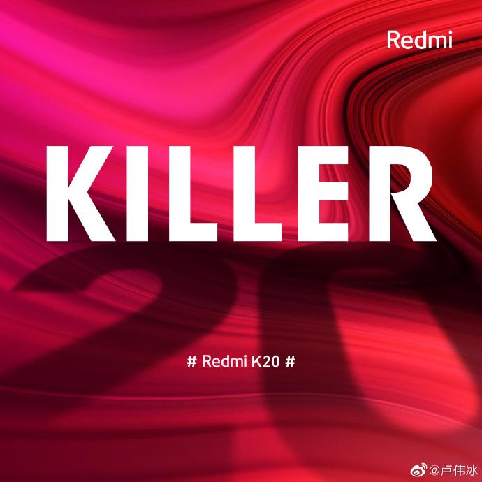 """Chystaný """"zabiják vlajkových lodí"""" se bude jmenovat Redmi K20"""
