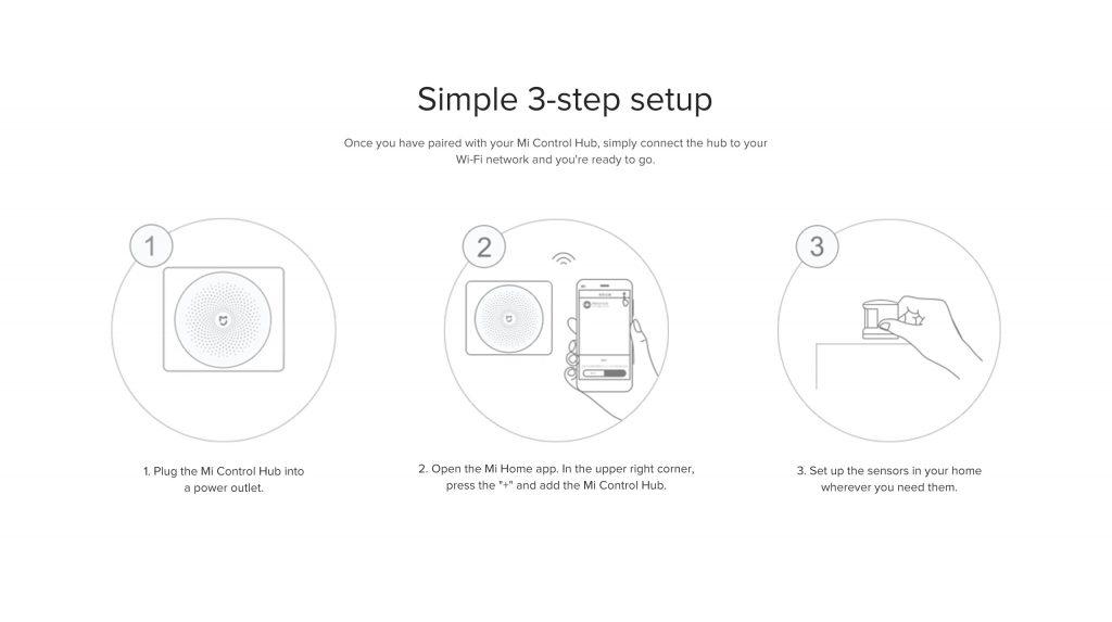 Jednoduché nastavení sady Xiaomi Mi Smart Sensor Set