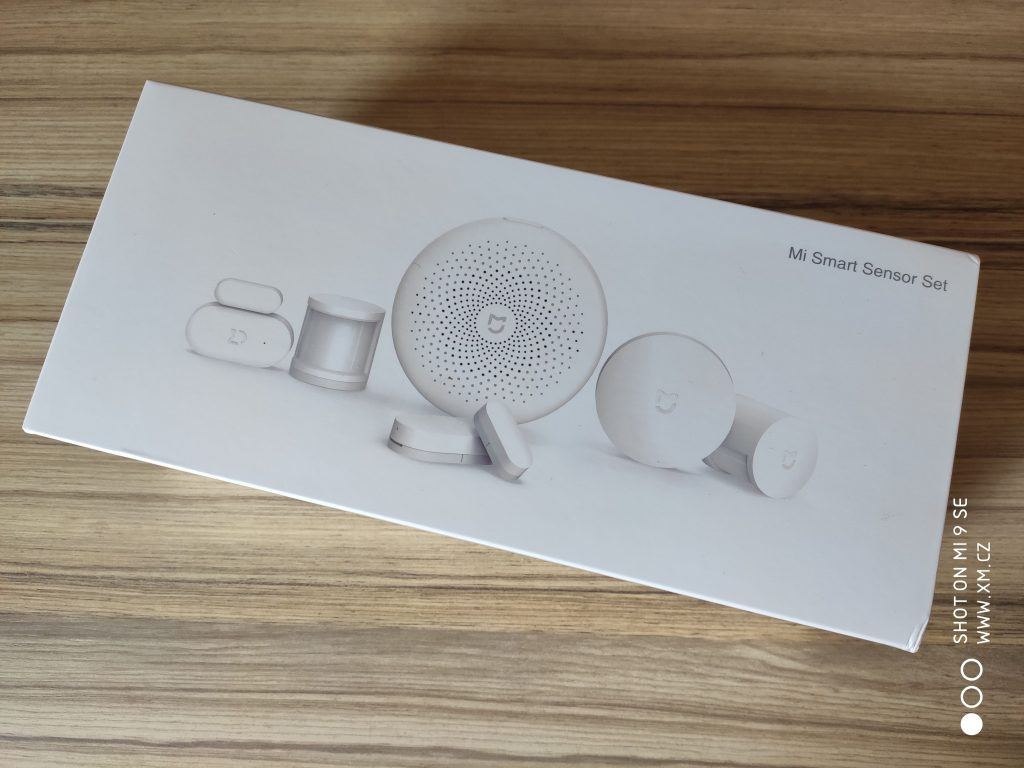Krabice Xiaomi Mi Smart Sensor Set
