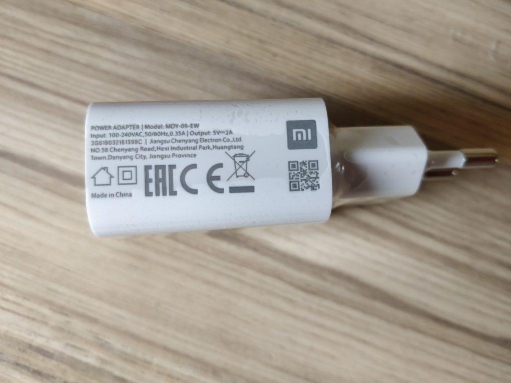 Nabíjecí adaptér ke Xiaomi Mi Play