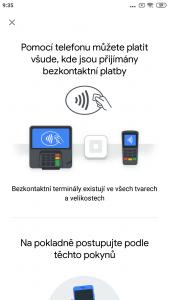 U pokladny můžete platit bezkontaktně mobilním telefonem